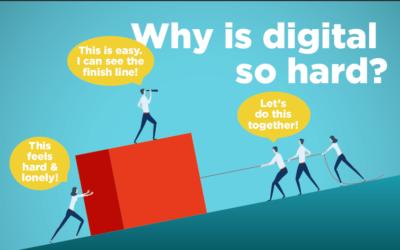 Why is digital hard?