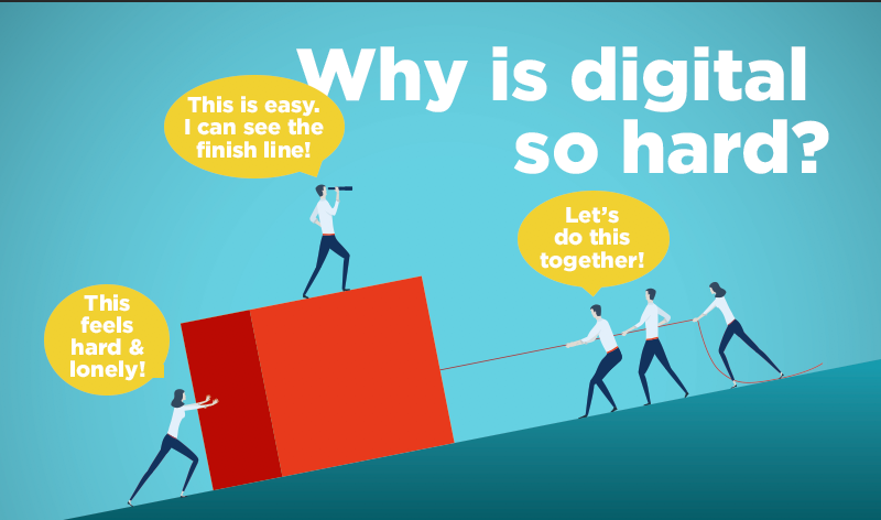 Why is digital hard?