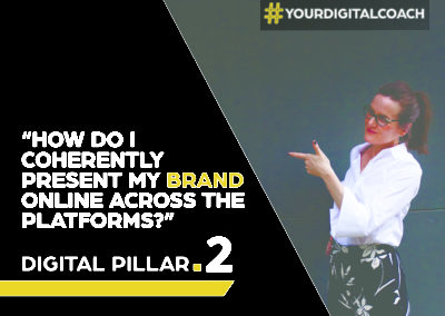 """How to coherently present my brand online across the platforms?"""